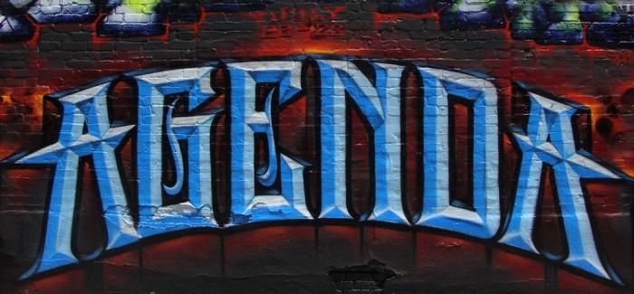"""Agenda"" par Abel & MK MSK WCA, Los Angeles (photo: A Syn)"