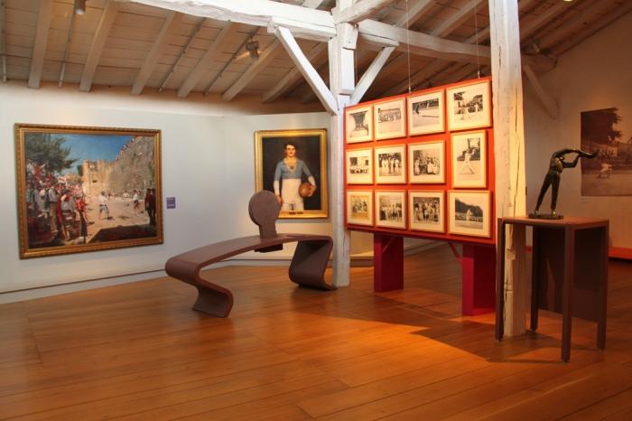 Musée Basque, salle des jeux (© Caroline Léna Becker)