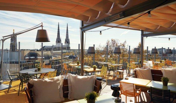 Depuis le rooftop du Mama Shelter (photo: site web de l'hôtel)
