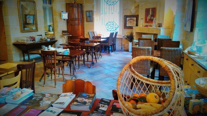Salle du petit déjeuner (photos; Yannick Revel)