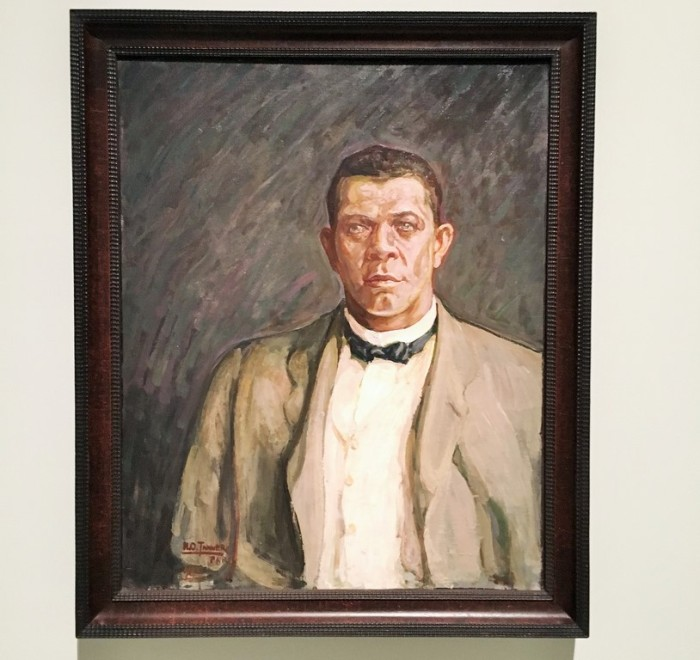 "Henry Ossawa Tanner ""Portrait T. Washington"""